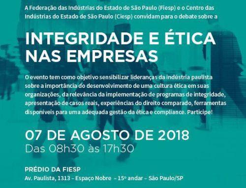Evento: Integridade e Ética nas Empresas